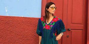 Ines domecq look vestido verano firma española michonet