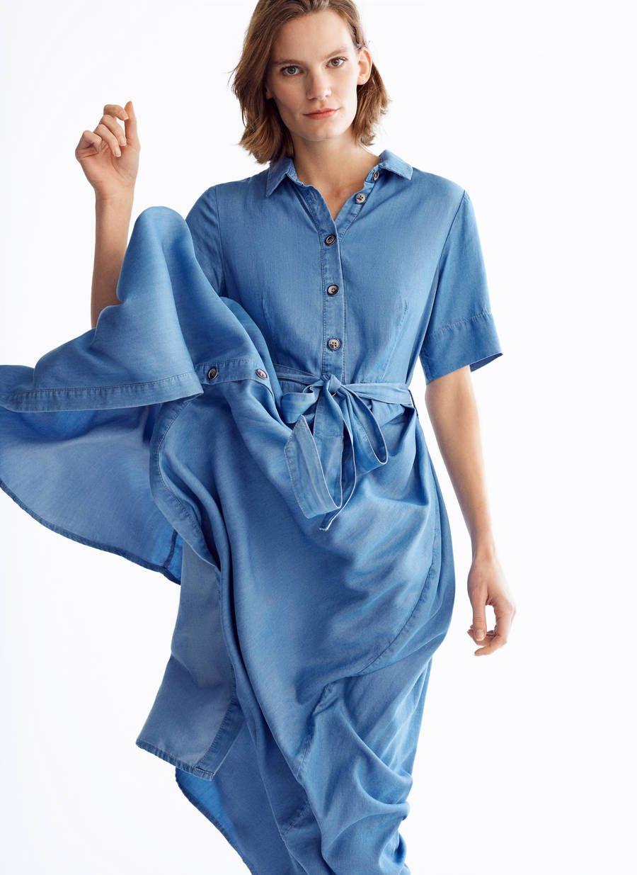 buscar autorización estilo actualizado materiales superiores Zara y Uterque venden el mismo vestido largo vaquero con ...