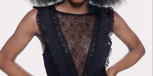 vestido negro encaje temporada rebajas nueva colección barato zara