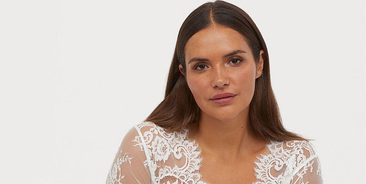285b91f2f Este vestido de novia de H M es ideal si tienes una talla grande y se  parece mucho al de Kate Middleton