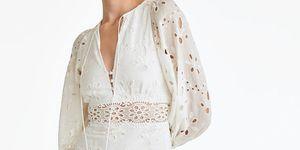 vestido blanco uterque