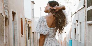 vestido corto fiesta zara talla grande instagram viral