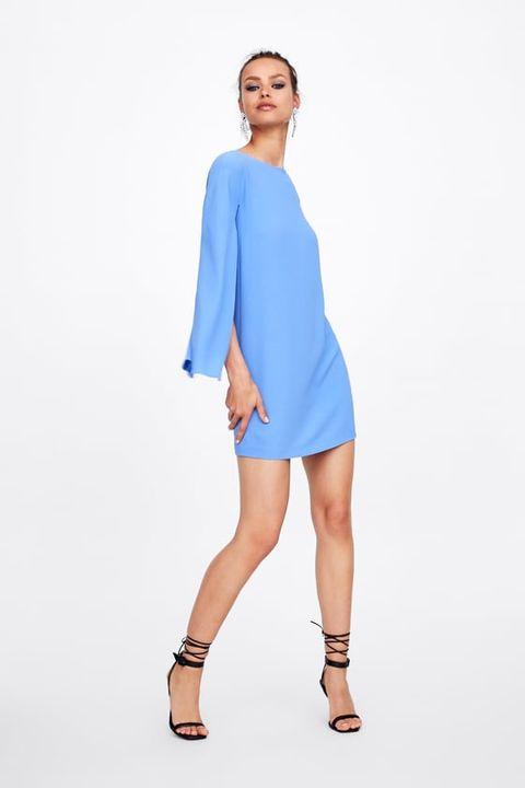 Estos Vestidos Azules De Invitada De Zara Mango Hm Y