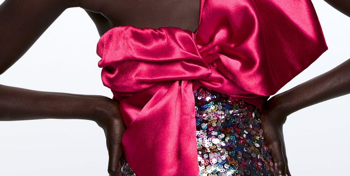 43233f2b4 Los vestidos cortos de fiesta y tops de Zara más espectaculares nunca  vistos acaban de llegar hoy a la tienda online y son más baratos que  ninguna otra ...