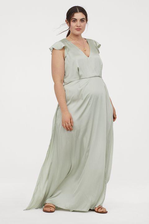 Los Vestidos Cortos Midi Y Largos De H M Para Tallas Grandes De Primavera