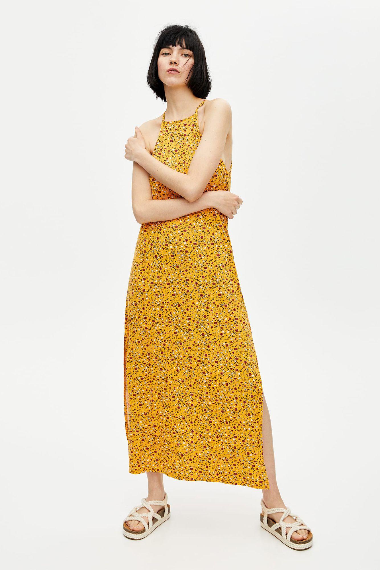 Vestidos Cortos Amarillos Que Menos Cuestan De Y Largos Pull
