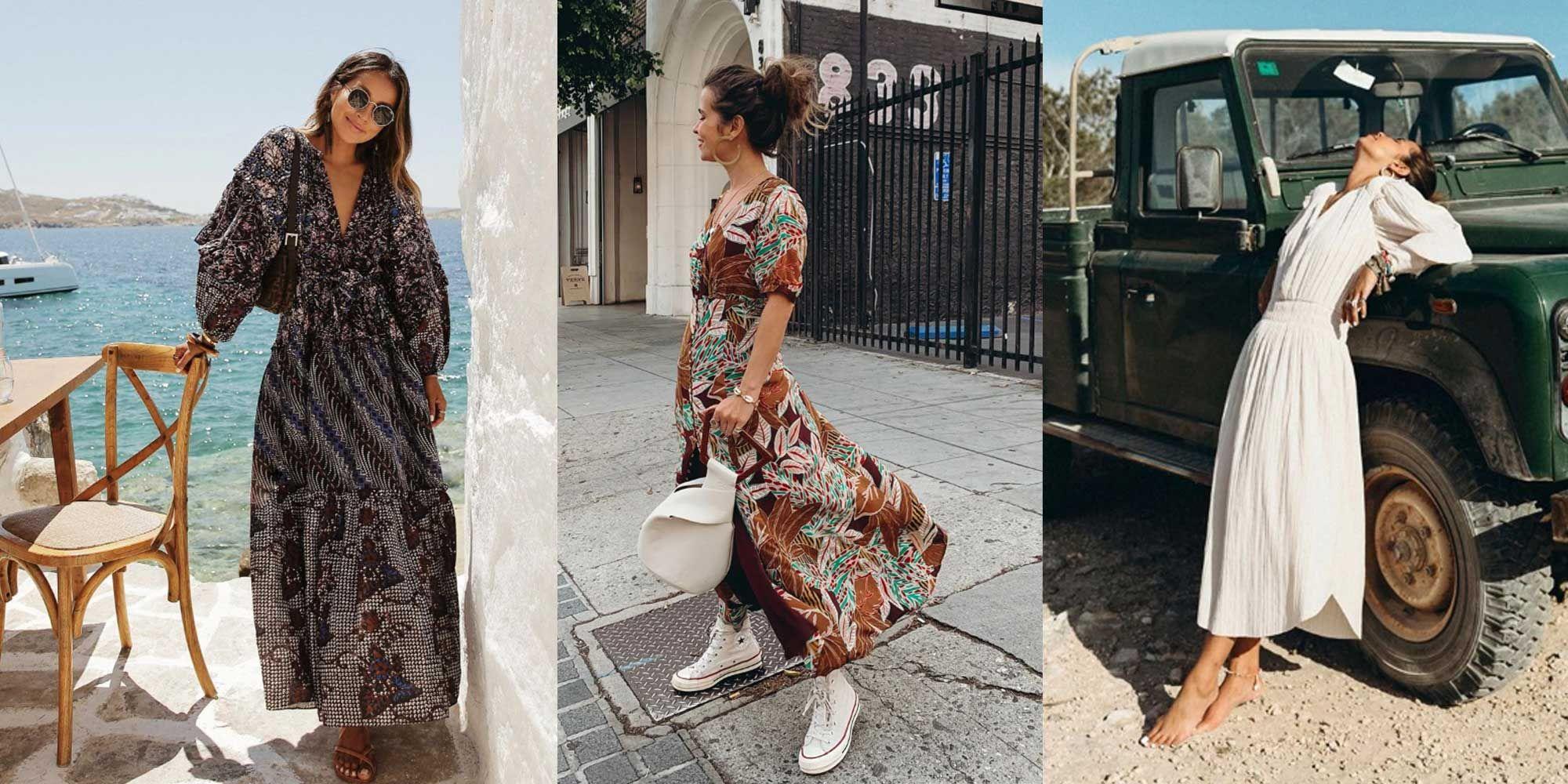 Cómo Largos Vestidos Llevar En Instagram Según Verano H92YDEIW