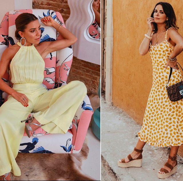 636f76bee vestidos monos trajes amarillos