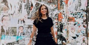 shoppingvestidos negros de otoño de Zara y Bershka