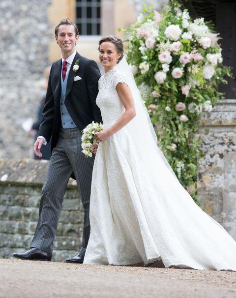 τα πιο διάσημα νυφικά στην ιστορία Pippa Middleton