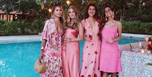 shoppingvestidos rosas arreglados y casual como las influencers para vivir un pink summer