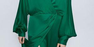 vestido verde largo invitada boda barato pelicula expiacion zara