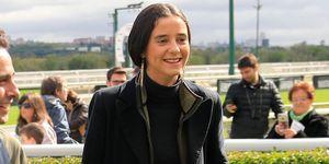 Victoria Federica superposiciones abrigo y chaleco