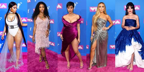 2015 vmas red carpet all the looks from the vmas