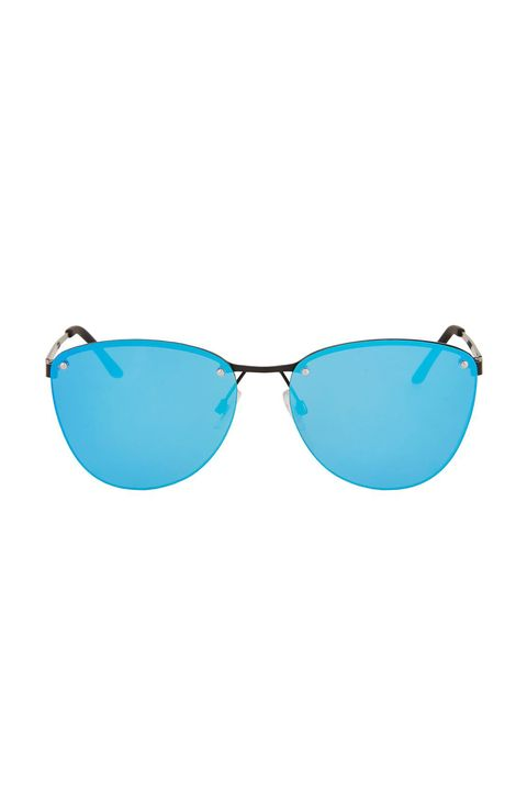 Eyewear, Sunglasses, Glasses, Aqua, Blue, Personal protective equipment, Turquoise, aviator sunglass, Vision care, Teal,