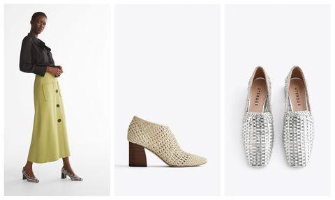 0570bb7b54e98 10 zapatos trenzados bonitos y cómodos de Uterqüe
