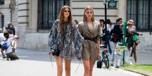 elle zomertrend microtrend catwalkhit legs for days