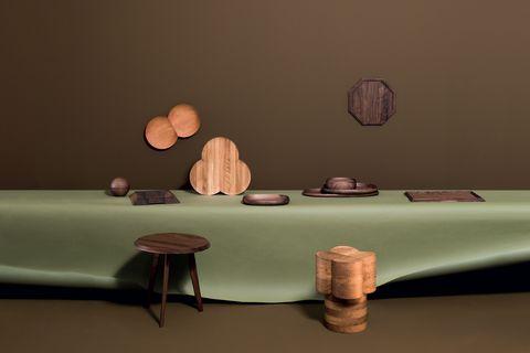design made in italy la collezione di  complementi d'arredo in legno di coincasa con elle decor italia