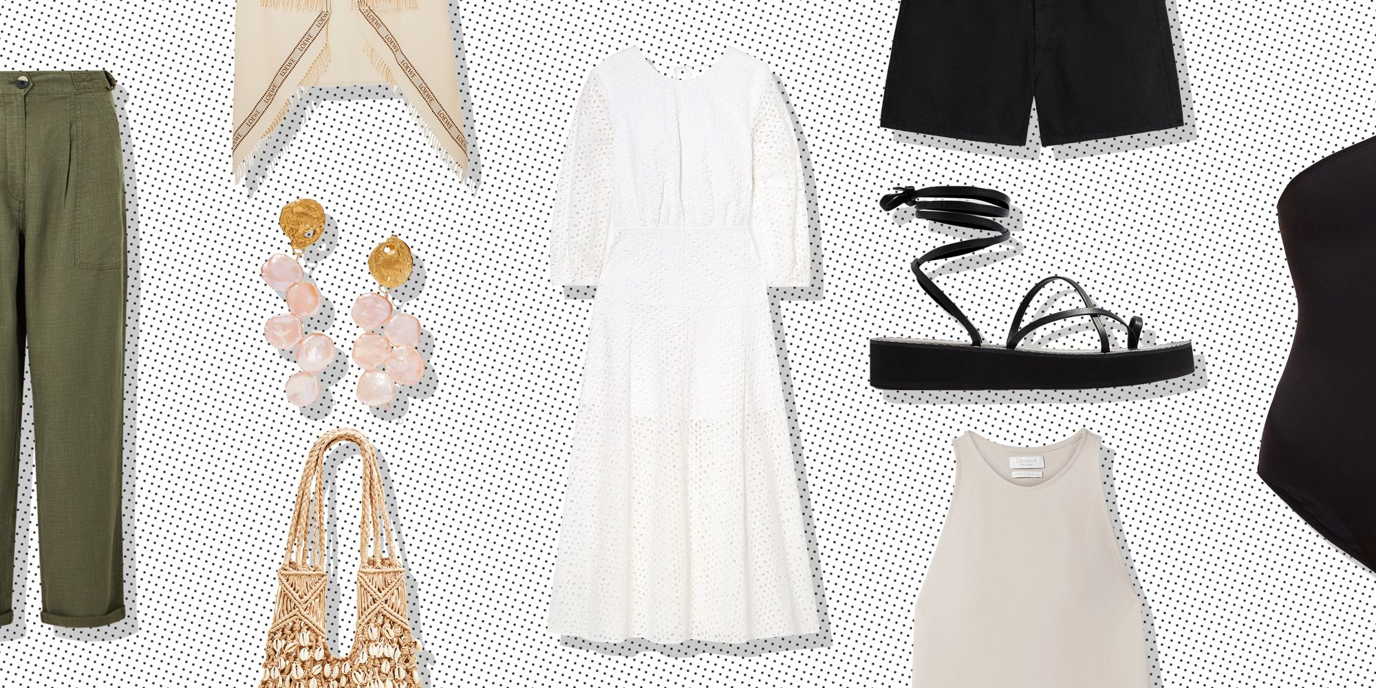 e6ff7dbf32 The 10 Holiday Essentials You Need In Your Summer Capsule Wardrobe