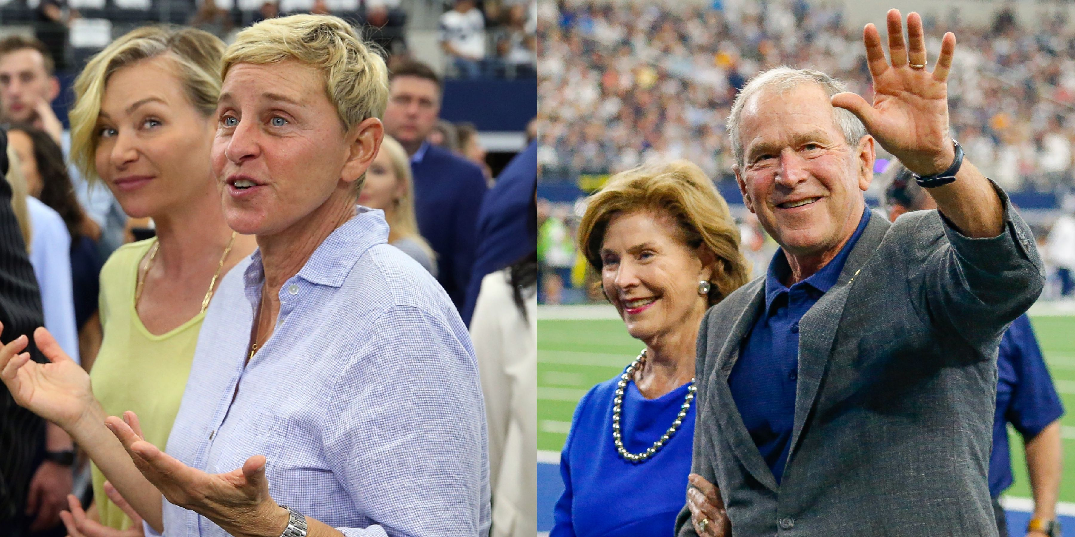 Ellen DeGeneres's Photo With George W. Bush Is Much Bigger Than a Famous Friendship