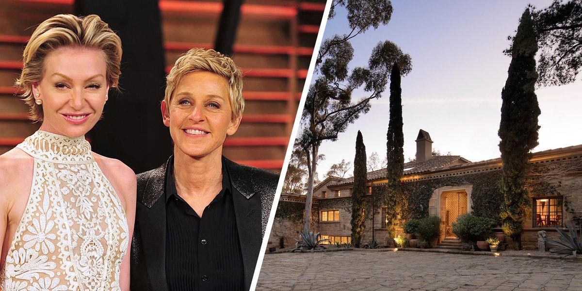 Ellen Degeneres And Portia De Rossi Home The Ellen