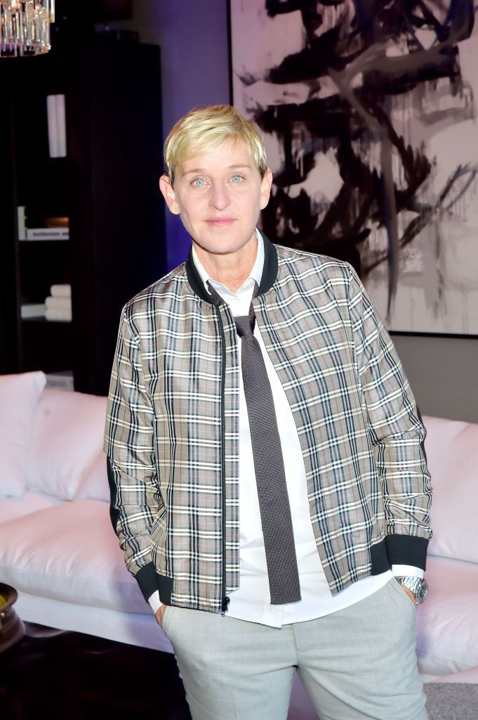 """Ellen Degeneres Ellen Degeneres has been vegan since 2008. """"I've always called myself an animal lover. And yet I ate them,"""" she said in a 2012 interview, according to Yahoo ."""