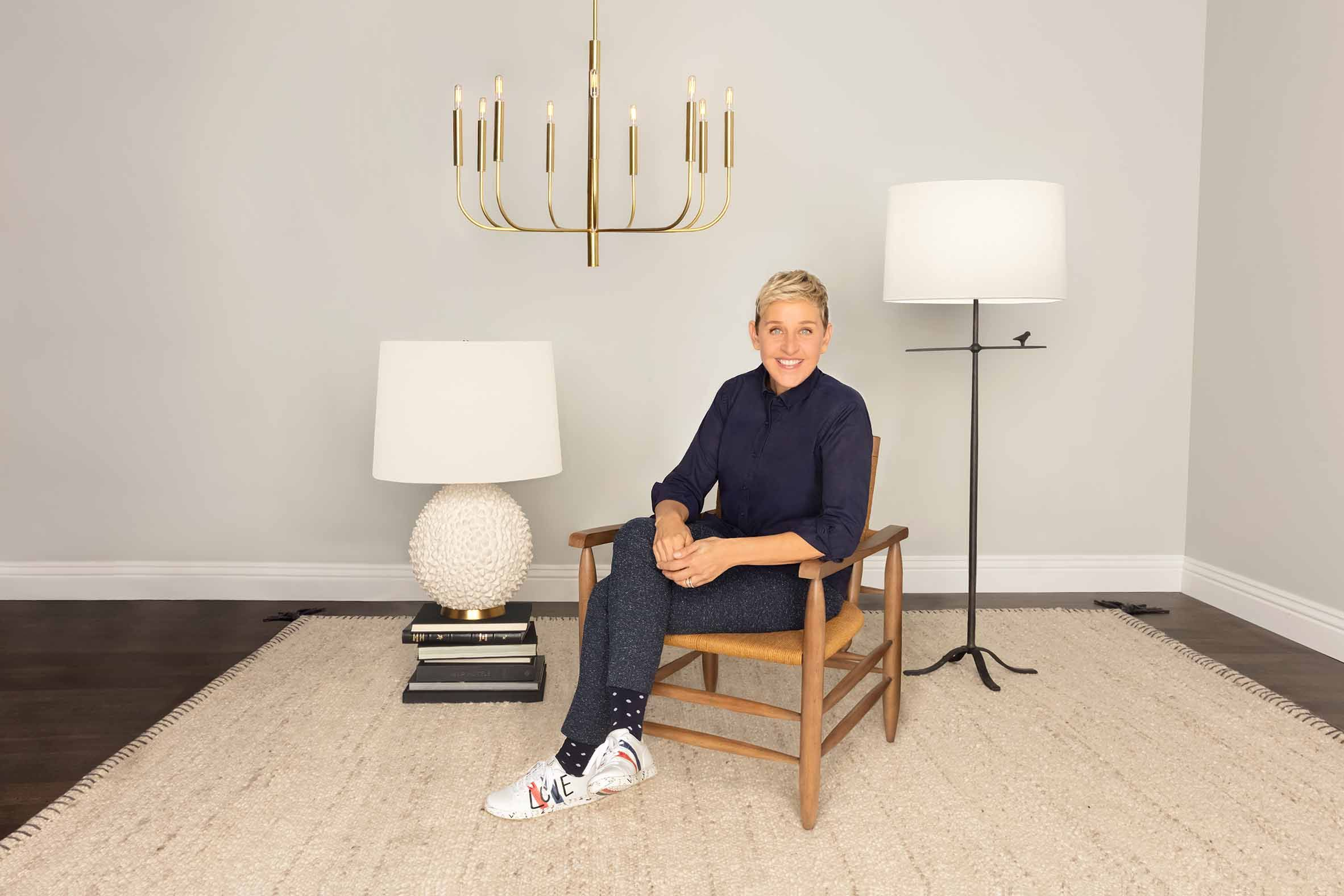 Ellen DeGeneres on the Only Home Decor Items You Need in Your Life