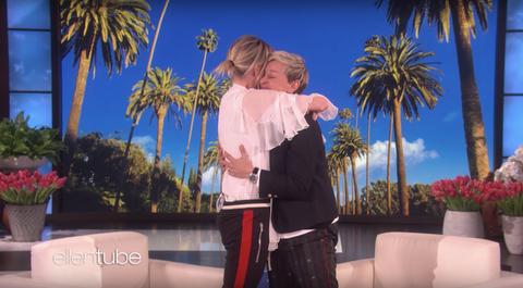 Portia de Rossi Birthday Gift to Ellen DeGeneres