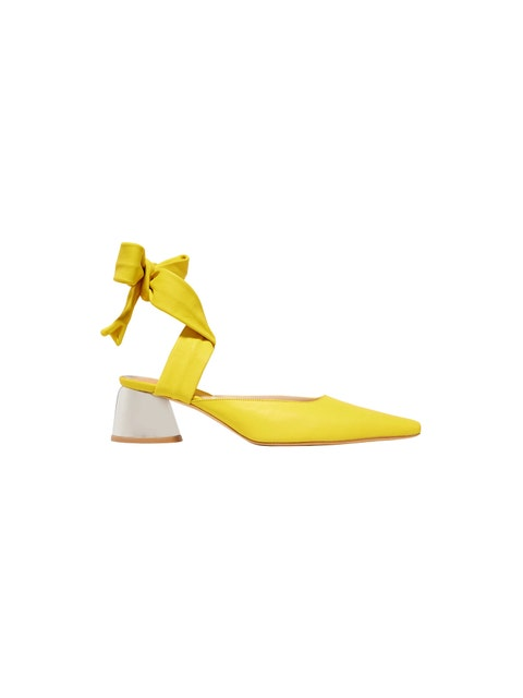 Yellow, Footwear, Shoe, Origami, Paper,