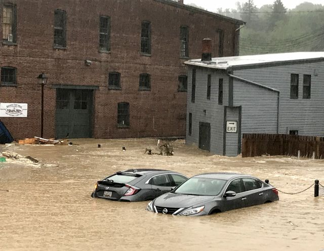 elliott city, md may 27two vehicles in  in historic ellicott city as flood waters raged through its streets following torrential thunderstorms in elliott city md on may 27, 2018photo by katherine freythe washington post