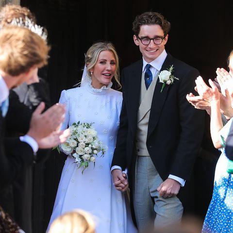 Ellie Goulding & Caspar Jopling - Ellie goulding wedding dress