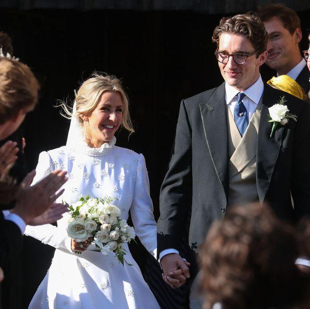 Ellie Goulding And Caspar Jopling S Wedding In Pictures