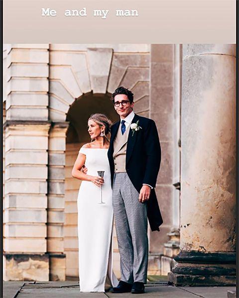 Ellie Goulding second wedding dress