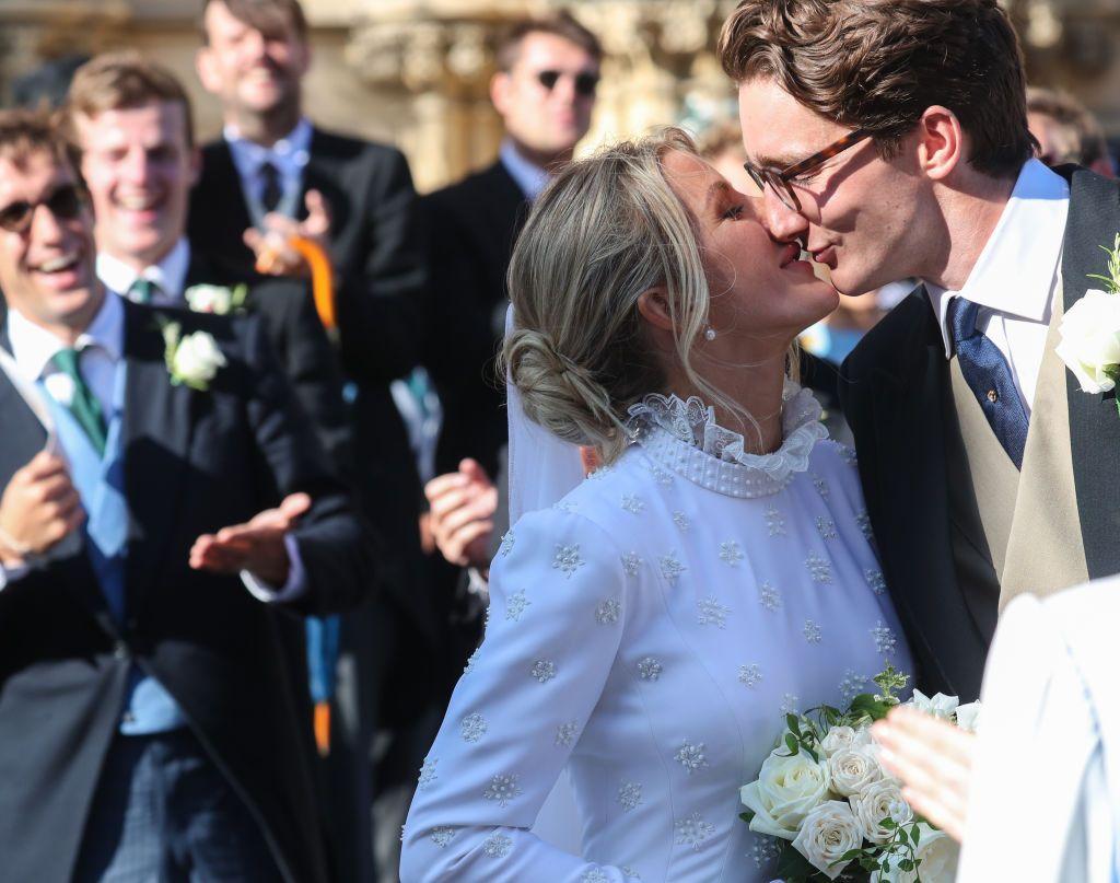 Wedding Dress Create.Ellie Goulding S Chloe Wedding Gown Took Over 640 Hours To Create