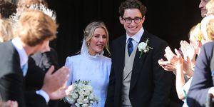 ellie goulding wedding dress second