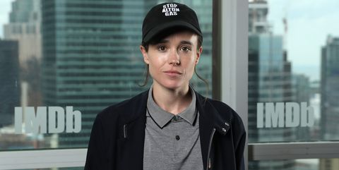 toronto, ontario   september 07 ellen page attends the imdb studio presented by intuit quickbooks at toronto 2019 at bisha hotel  residences on september 07, 2019 in toronto, canada photo by rich polkgetty images for imdb