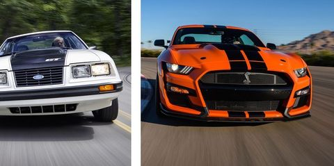 Ford Mustang A Brief History In Zero To 60 Mph