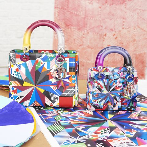 05e815eb33ca Dior Enlists an All-Female Lineup of Artists to Reinvent the Iconic Lady  Dior Bag