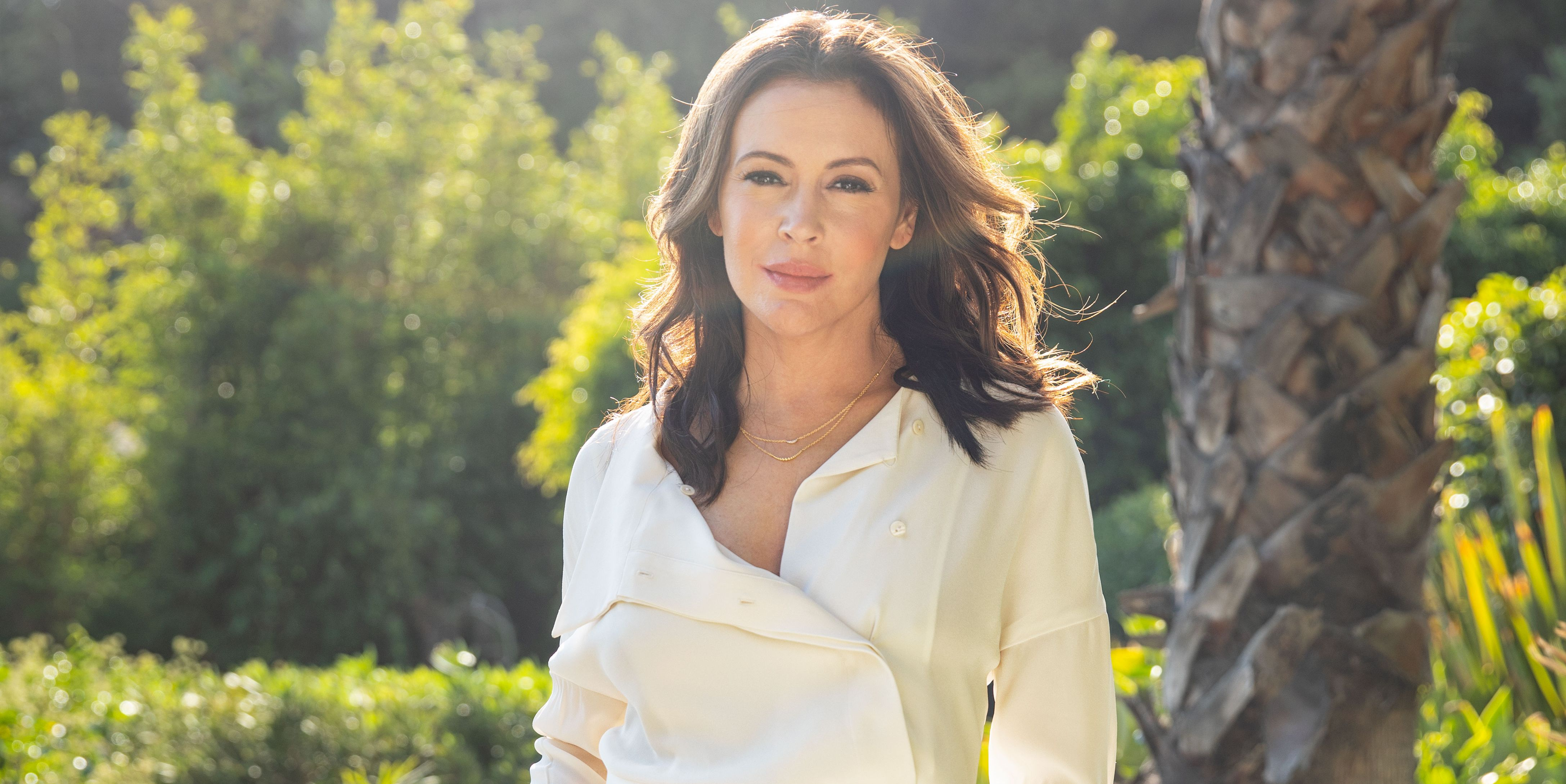 Alyssa Milano Has Always Fought for Justice. Maybe You Just Weren't Paying Attention.
