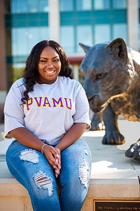 praire view am university graduate jayla allen advocated for fair election policy as a student