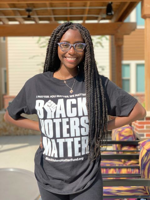 maia young also became a student political leader early in her time on campus at prairie view am