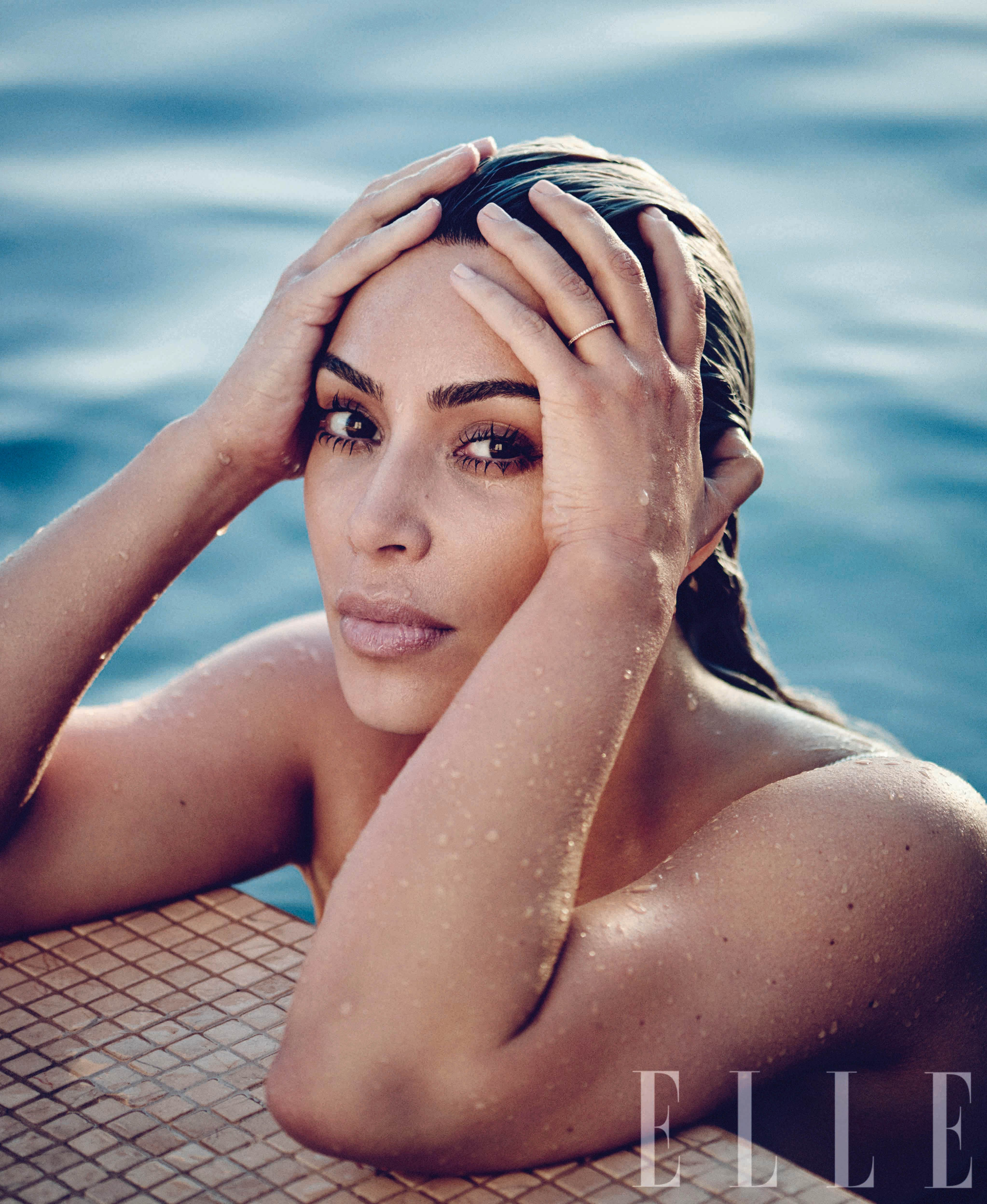Kim Kardashian ELLE April 2018
