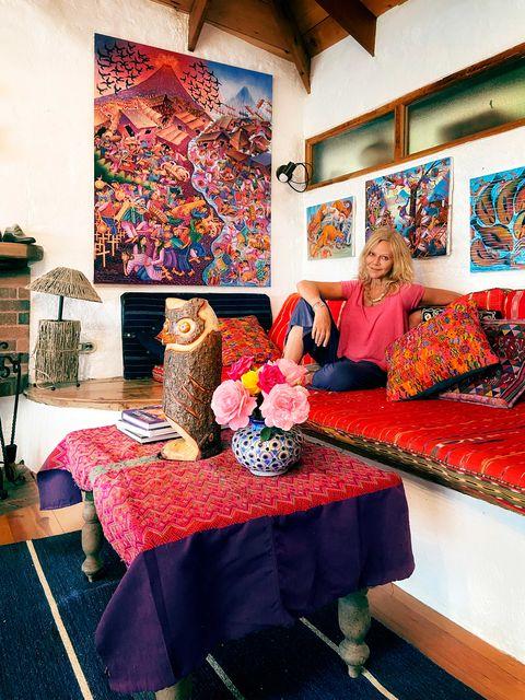 joyce maynard photographed in her guatemala home