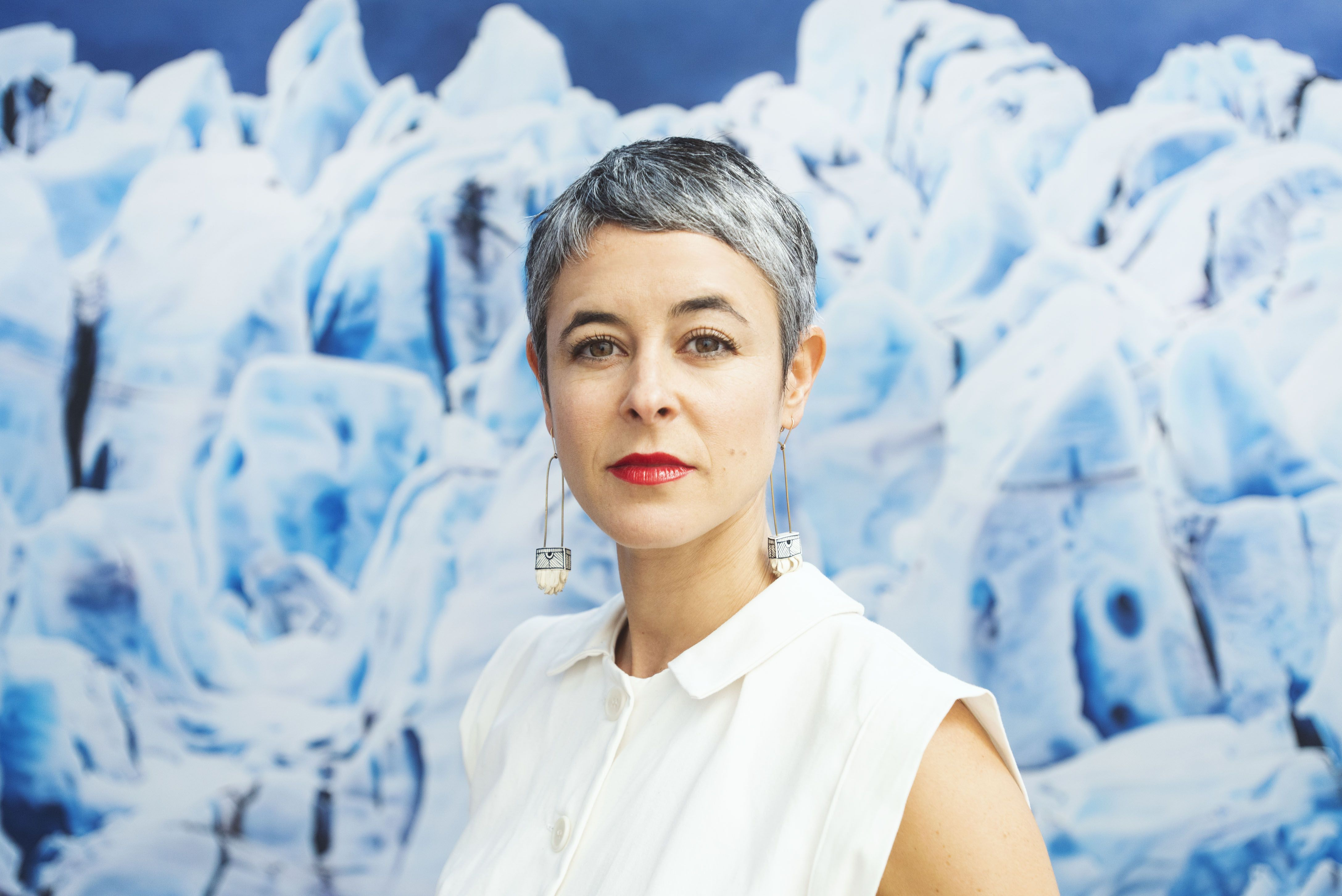 Artist Zaria Forman Confronts Global Warming One Melting Icescape at a Time