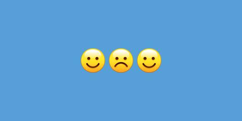 Emoticon, Smiley, Blue, Yellow, Smile, Facial expression, Daytime, Azure, Happy, Sky,