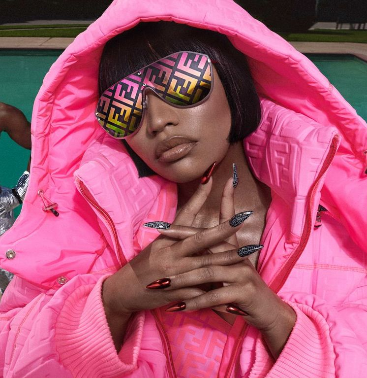 Nicki Minaj Puts Her Fendi Prints On