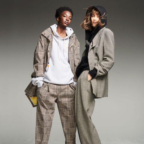 Fashion model, Clothing, Fashion, Fashion design, Outerwear, Human, Pajamas, Sportswear, Trousers, Photography,