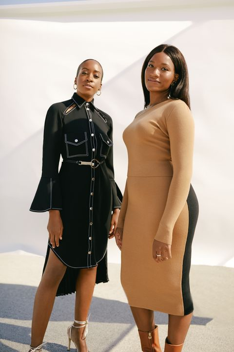 chrissy rutherford and danielle prescod photographed in brooklyn in october