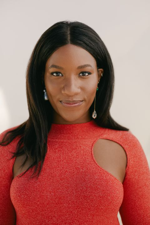 danielle prescod, a 32 year old black woman with a large following and a long career in fashion and beauty, hosts antiracism seminars with chrissy rutherford
