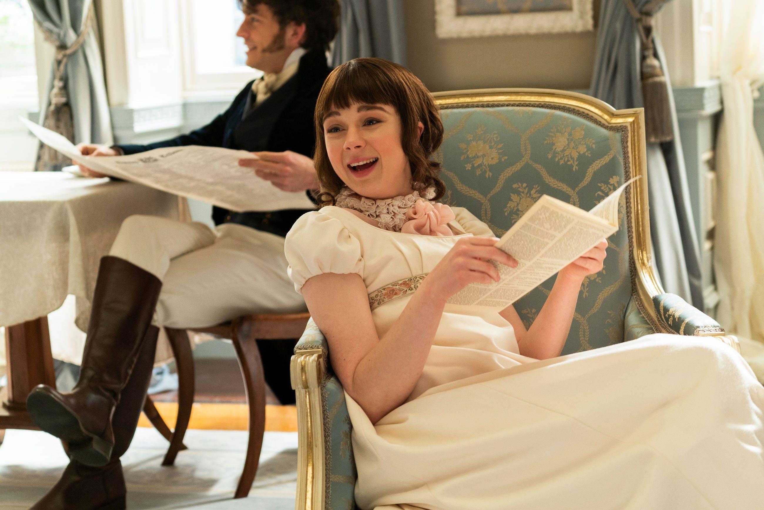 Bridgerton's Claudia Jesse Interview about Eloise, Sexual Education, & Season 2